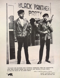 Bobby Seale and Huey Newton